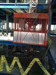 استفاده از آسانسور کارگاهی در پروژه ساختمانی