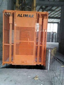 آسانسور کارگاهی آلیماک Alimak