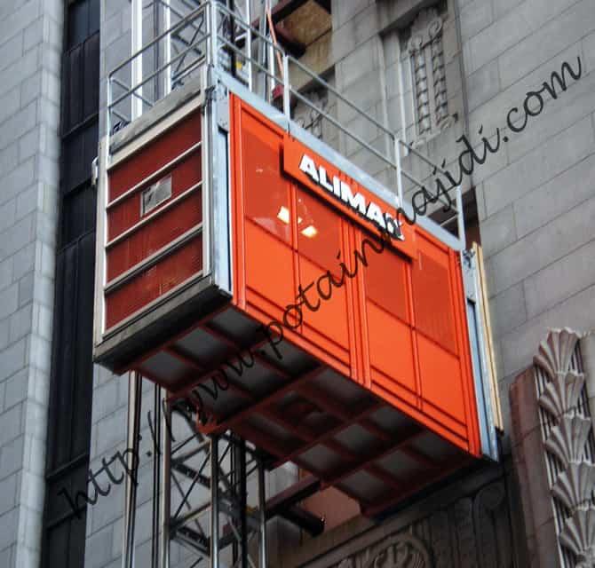آسانسور کارگاهی آلیماک مدل Alimak Scando 650 XL