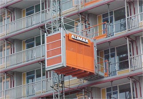 آسانسور کارگاهی آلیماک مدل Alimak SC 65/32